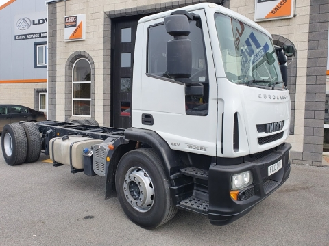 2013 Iveco Eurocargo 180E25 SWB Air Supspension