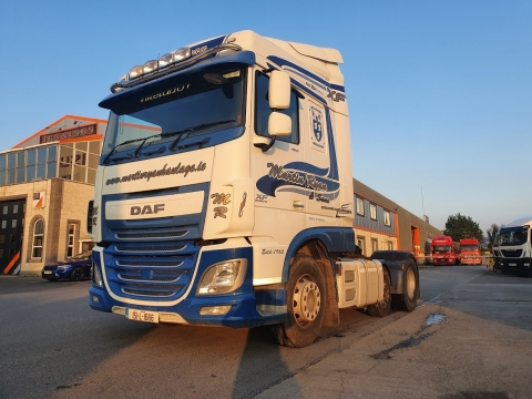 2015 DAF XF 460 Manual 6x2