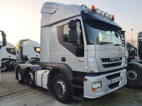 2013 Iveco Stralis Active Time 450 Manual 6x2